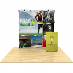 8ft 3D SNAP Pop-Up Display Kit 5