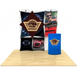 8ft 3D SNAP Pop-Up Display Kit 6