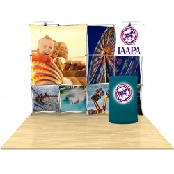 10ft 3D SNAP Pop-Up Display Kit 4
