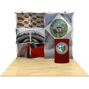 10ft 3D SNAP Pop-Up Display Kit 5