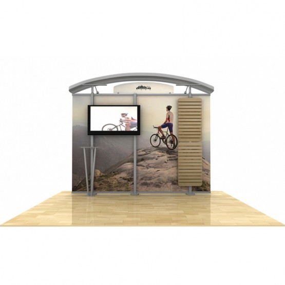 10ft Timberline Curved Canopy Straight Display