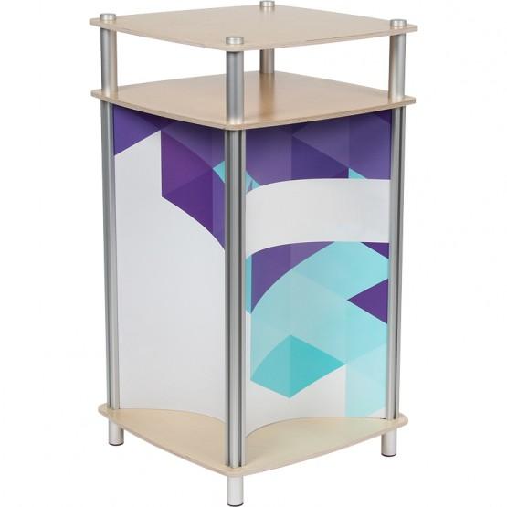 Concave Square Twist Counter