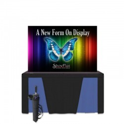 "ShowFlex 70""x46"" Tension Fabric Display"