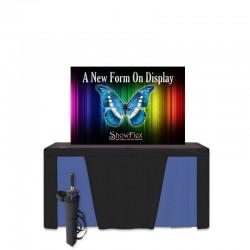 "ShowFlex 58""x37"" Tension Fabric Display"