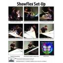 "ShowFlex 57""x38"" Tension Fabric Display"