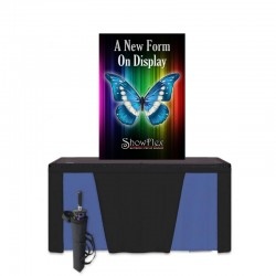 "ShowFlex 37""x58"" Tension Fabric Display"