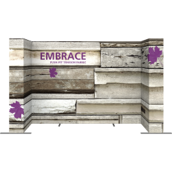 Embrace™ U-Shape 14ft Push-Fit Display