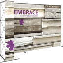 Embrace™ L-Shape 11ft Push-Fit Display