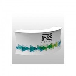 "Formz 100"" Crescent Counter"