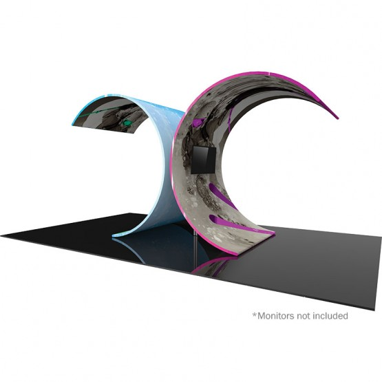 Curved Tree Video Wall