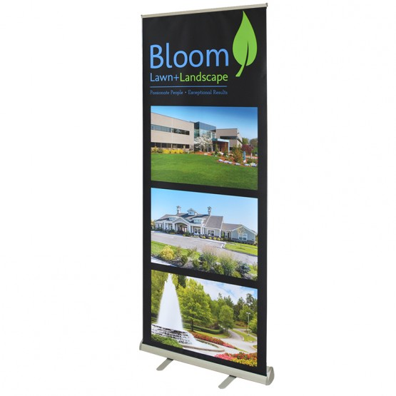 "Triad 33"" wide Retracting Banner Stand"