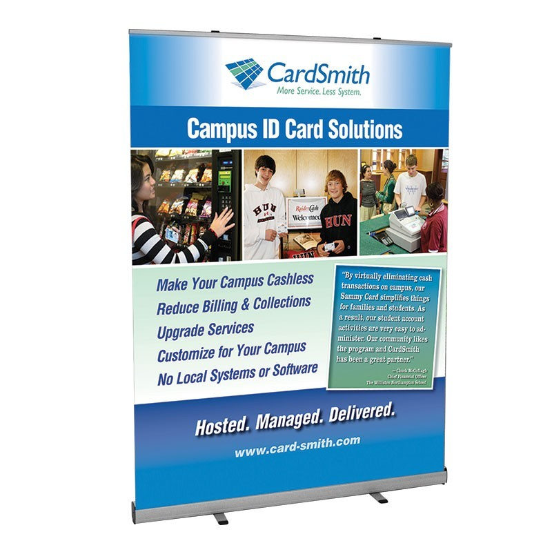 Boost 60 Quot Wide Retracting Banner Stand