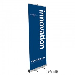 BoostXL 10ft tall Retracting Banner Stand