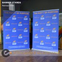 "SuperScreenXL 60"" Retracting Banner Stand"