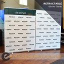 """Boost 60"""" wide Retracting Banner Stand"""