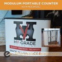 Modulum Curved Portable Counter Kit 3