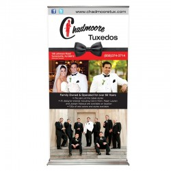 "EZ Pull-up 44"" Retracting Banner Stand"