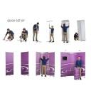 ISOframe Ripple 3-Panel Banner Stand Kit