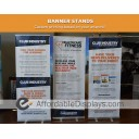 "Boost 31"" wide Retracting Banner Stand"