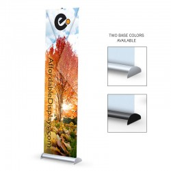 "Mercury Hybrid 24"" Retractable Banner Stand"
