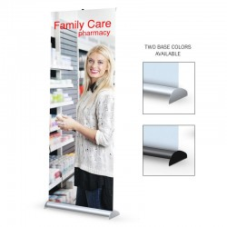 "Mercury Hybrid 36"" Retractable Banner Stand"