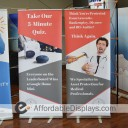 Econoroll Retracting Banner Stand