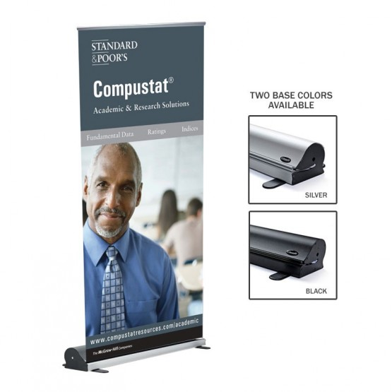 BannerUP Plus Retracting Banner Stand