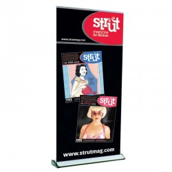 Expand Quickscreen3 Retractable Banner Stand