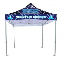 10ft Casita Canopy Tent - Premium Aluminum - Full Color