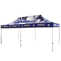 20ft Casita Canopy Tent Standard Aluminum - Full Color