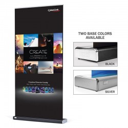Expand 40in M2 Retractable Banner Stand