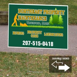 "18"" x 24"" Ground Stake Yard Sign"