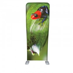 Wave Tube Flex Fabric Banner Stand