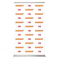 "SuperScreenXL 48"" Step & repeat Retracting Banner Stand"