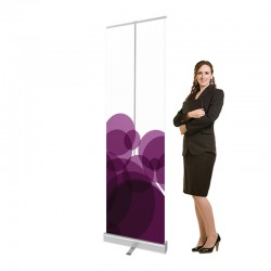 "23.5"" Retractable Banner Shield"