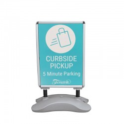 All Weather Outdoor Sidewalk Sign - Social Distancing Solutions