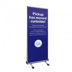 Four Season Trek Lite Banner Stand - Social Distancing Solutions