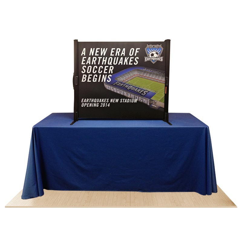how to make a horizontal banner stand