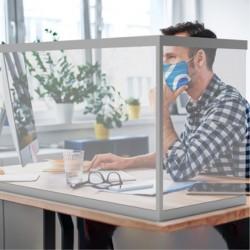 Desktop Sneeze Guards