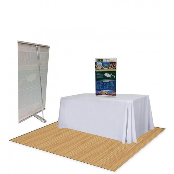 L-BANNER COUNTER TOP BANNER STAND