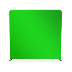 8ft Green Screen Video Backdrop