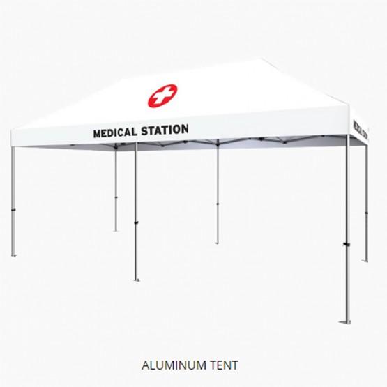 20ft Zoom Standard (Aluminum) Popup Tent