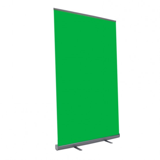 """Boost 48"""" wide Retracting Green Screen Banner Stand"""