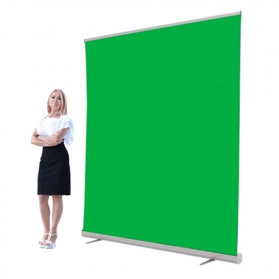 Jumbo 6ft Retracting Green Screen Banner Stand