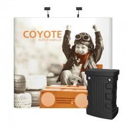 8ft Coyote Full Graphic Panel Straight Kit