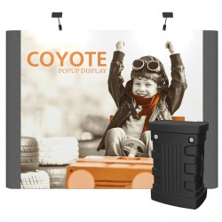 10ft Coyote Graphic/Fabric Panel Straight Kit