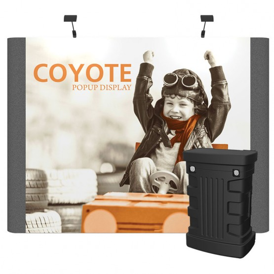 11ft Coyote Graphic/Fabric Panel Straight Kit