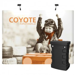 10ft Coyote Full Graphic Panel Straight Kit