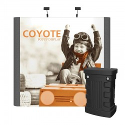 9ft Coyote Graphic/Fabric Panel Straight Kit