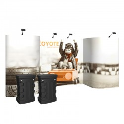 17ft Coyote Horseshoe Deluxe Full Graphic Kit